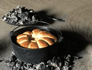 Bread Baked in Lesotho Hut